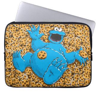 Protection Pour Ordinateur Portable Monstre vintage et biscuits de biscuit