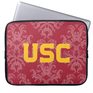 Protection Pour Ordinateur Portable Motif de damassé des Trojan | d'USC