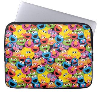Protection Pour Ordinateur Portable Motif de visages de caractère de Sesame Street