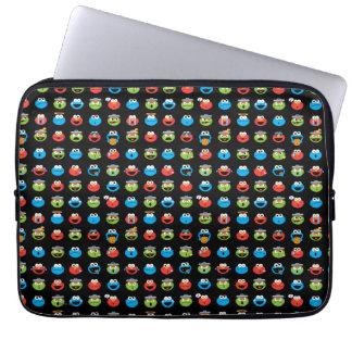 Protection Pour Ordinateur Portable Motif d'Emoji de copains de Sesame Street