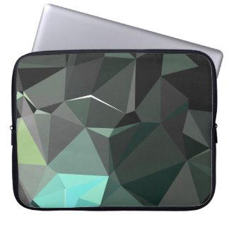 Protection Pour Ordinateur Portable Motif géométrique abstrait moderne - cathédrale de