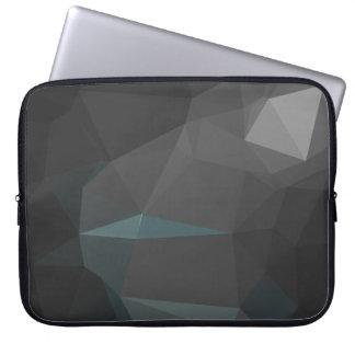Protection Pour Ordinateur Portable Motif géométrique abstrait moderne - côté de lune