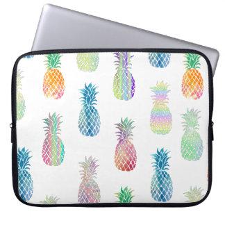 Protection Pour Ordinateur Portable motif hawaïen d'ananas