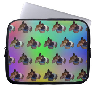 Protection Pour Ordinateur Portable Motif opale de cobaye, 10 pouces