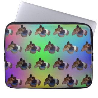 Protection Pour Ordinateur Portable Motif opale de cobaye, 13 pouces