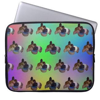 Protection Pour Ordinateur Portable Motif opale de cobaye, 15 pouces