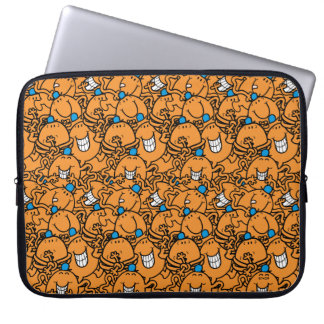 Protection Pour Ordinateur Portable Motif orange de chatouillement de M. Tickle |