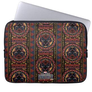 Protection Pour Ordinateur Portable Motif tribal de tête de panthère de la panthère