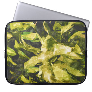 Protection Pour Ordinateur Portable Nature verte