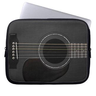Protection Pour Ordinateur Portable Noir de guitare