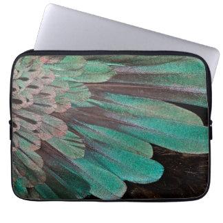 Protection Pour Ordinateur Portable Oiseau superbe des plumes de paradis