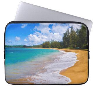 Protection Pour Ordinateur Portable Paradis tropical de plage, Hawaï