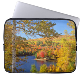 Protection Pour Ordinateur Portable Paysage d'arbre d'automne, Maine