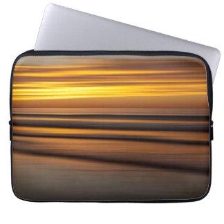 Protection Pour Ordinateur Portable Paysage marin abstrait au coucher du soleil, CA