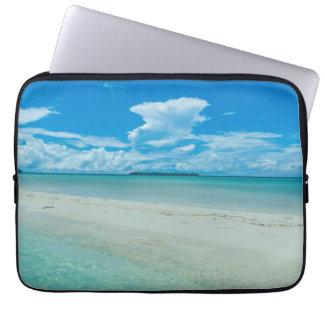 Protection Pour Ordinateur Portable Paysage marin tropical bleu, Palaos