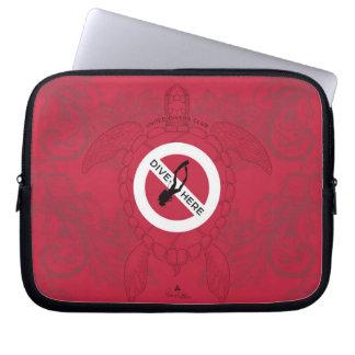 Protection Pour Ordinateur Portable Piqué ici