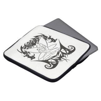 """Protection Pour Ordinateur Portable Pochette ordinateur portable """"Fée Tribal"""""""