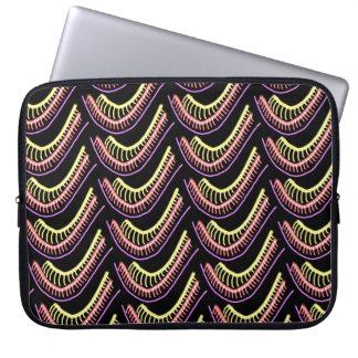 Protection Pour Ordinateur Portable Pochette protectrice pour ordinateur rose vert