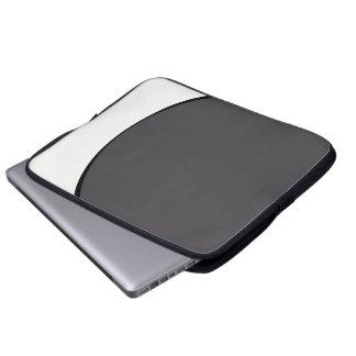 Protection Pour Ordinateur Portable Point gris-foncé