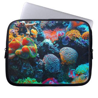 Protection Pour Ordinateur Portable Récif coralien tropical sous-marin