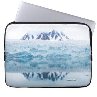 Protection Pour Ordinateur Portable Réflexions de glacier, Norvège