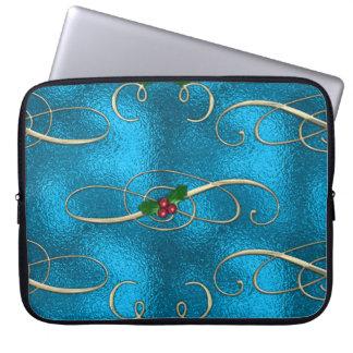 Protection Pour Ordinateur Portable Remous modernes et élégants de Noël