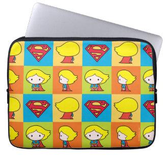 Protection Pour Ordinateur Portable Revirement de caractère de Chibi Supergirl