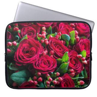 Protection Pour Ordinateur Portable Roses rouges