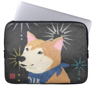 Protection Pour Ordinateur Portable Shiba Inu, Shiba orange, année du chien