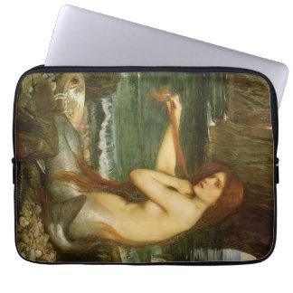 Protection Pour Ordinateur Portable Sirène par le château d'eau de JW, art victorien