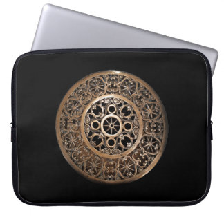 Protection Pour Ordinateur Portable Steampunk antique de bronze en métal de Vatican