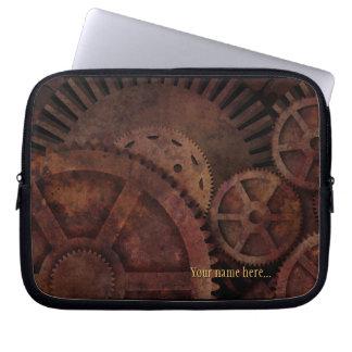 Protection Pour Ordinateur Portable Steampunk embraye l'outillage industriel