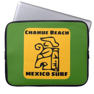 Protection Pour Ordinateur Portable Surf de plage de Chahue de sable