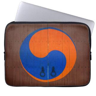 Protection Pour Ordinateur Portable Symbole de Yin et de Yang, Corée du Sud