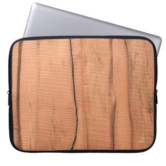 Protection Pour Ordinateur Portable Texture en bois
