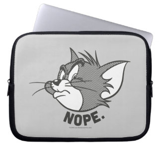 Protection Pour Ordinateur Portable Tom et Jerry | Tom dit Nope