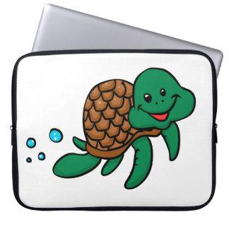Protection Pour Ordinateur Portable Tortue de mer de bande dessinée