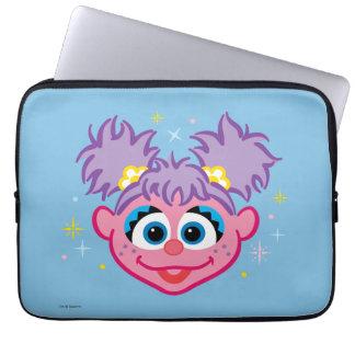 Protection Pour Ordinateur Portable Visage de sourire d'Abby