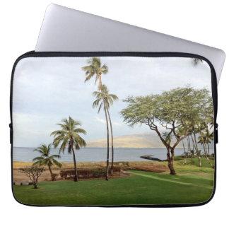 Protection Pour Ordinateur Portable Vue vers la baie de Maalaea de Kihei, Maui, Hawaï