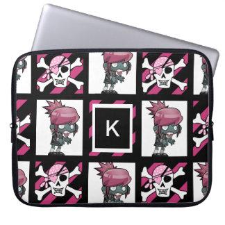 Protection Pour Ordinateur Portable Zombis et pirates de fille