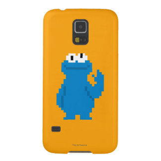 Protections Galaxy S5 Art de pixel de monstre de biscuit