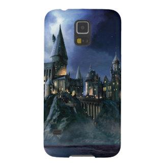Protections Galaxy S5 Château | Hogwarts éclairé par la lune de Harry