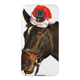 Protections Galaxy S5 Cheval père Noël - cheval de Noël - Joyeux Noël