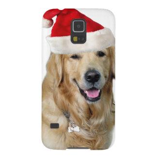 Protections Galaxy S5 Chien-animal familier de Labrador Noël-père Noël