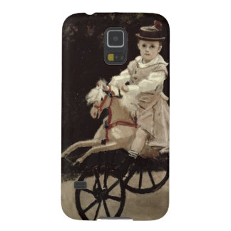 Protections Galaxy S5 Claude Monet | Jean Monet sur son cheval de