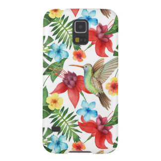 Protections Galaxy S5 Colibri tropical
