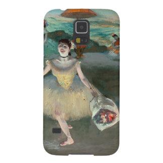 Protections Galaxy S5 Danseur d'Edgar Degas   avec le bouquet, faisant