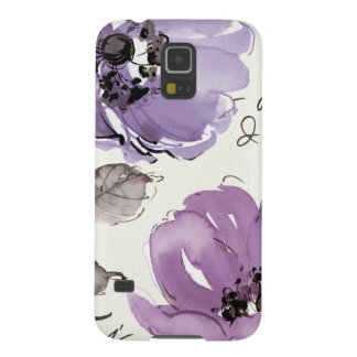 Protections Galaxy S5 Fleurs pourpres
