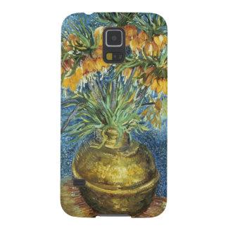 Protections Galaxy S5 Fritillaires impériales de couronne de Vincent van