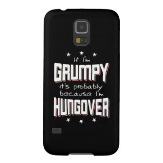 Protections Galaxy S5 GRINCHEUX parce que HUNGOVER (noir)